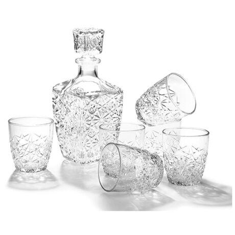 Likőrös Szett Spirit dekanterrel 6 pohárral