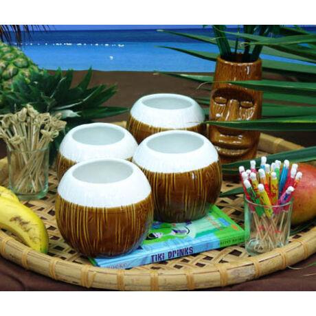 White Coco Tiki koktélos pohár 480 ml.