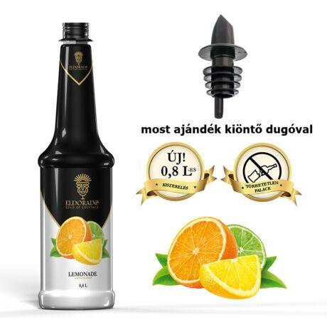 Gluténmentes Eldorado Limonádé szirup 0,8 L (most ajándék kiöntő dugóval)