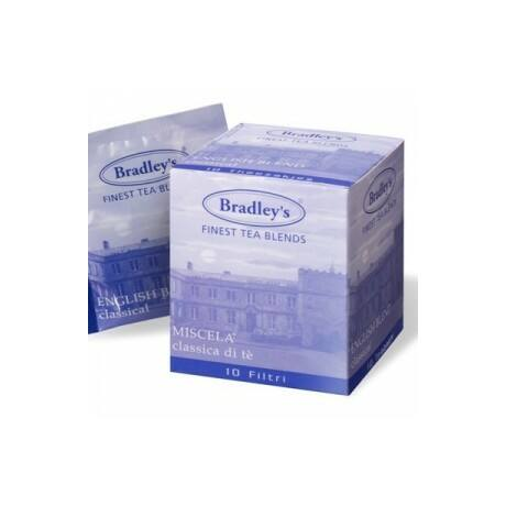 Bradley's Klasszikus English Blend Tea 10db/doboz