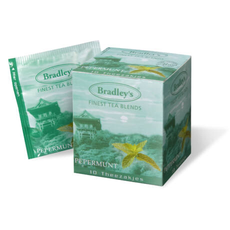 Bradley's Borsmenta Tea (Peppermint) 10db/doboz