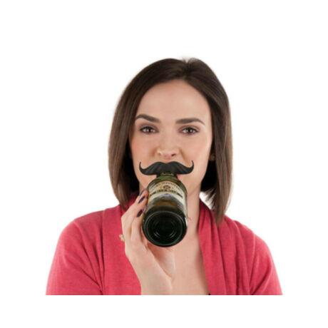 Sörösüveg jelölő party szett bajusz forma - 6db/cs