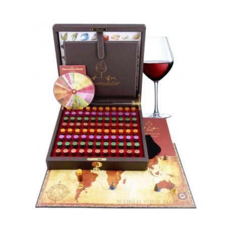 Profi Aromaster Wine Taster, bor illatminta társasjátékkal - 88db-os
