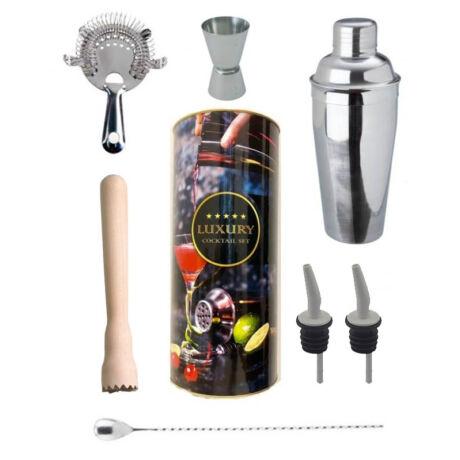 Luxury manhattan koktél shaker szett, színes díszdobozban