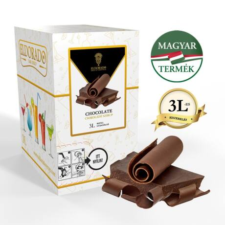 Bag in Box Eldorado csokoládé szirup 3 liter