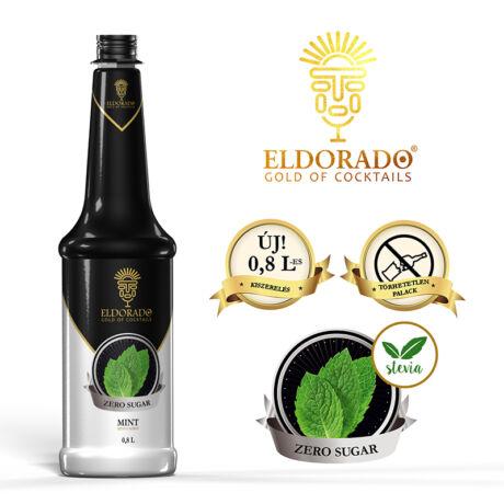 Eldorado cukormentes menta szirup - 0,8L