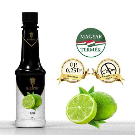 Gluténmentes Eldorado Lime szirup 0,8 L (most ajándék kiöntő dugóval)