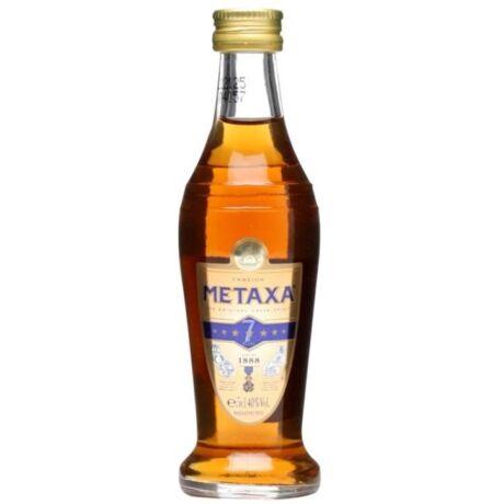 Metaxa 7* Brandy mini - 0,05L (40%)