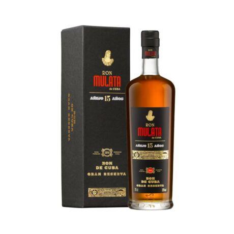 Mulata 15 éves Gran Reserva rum - 0,7L (38%) díszdobozban