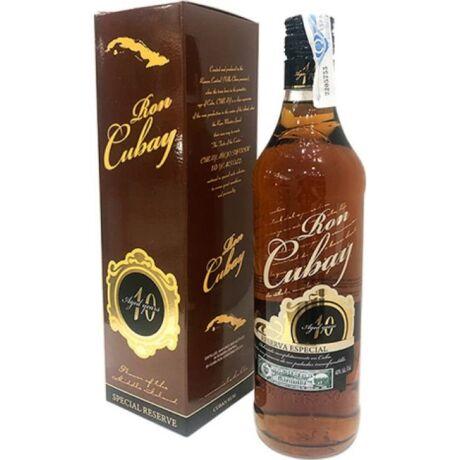 Ron Cubay Anejo Superior 10 éves rum - 0,7L (40%)