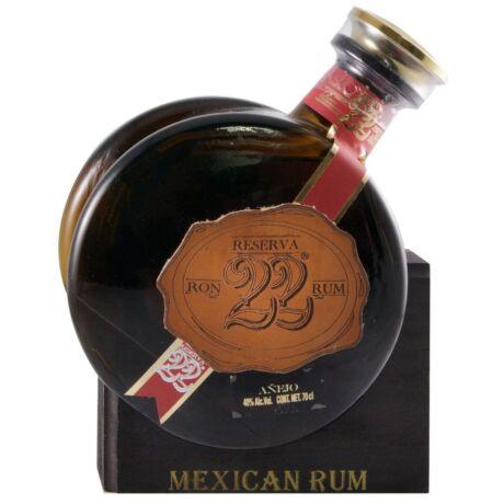 Prohibido 22 Reserve Rum, fa állvánnyal - 0,7L (40%)