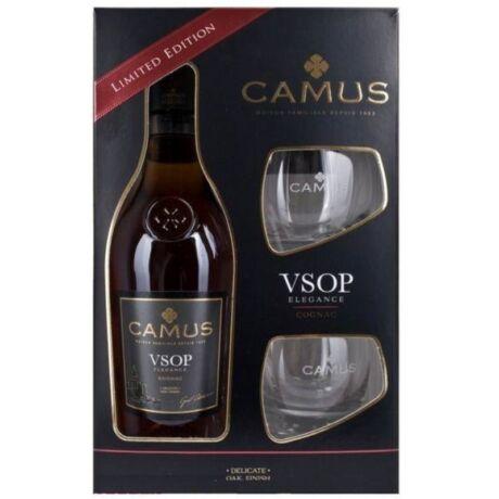 Camus VSOP Cognac dd. 0,7L 40% + 2 pohár