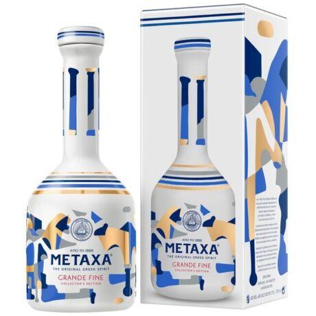 Metaxa Grande Fine Brandy dd. porcelán üvegben - 0,7L (40%)