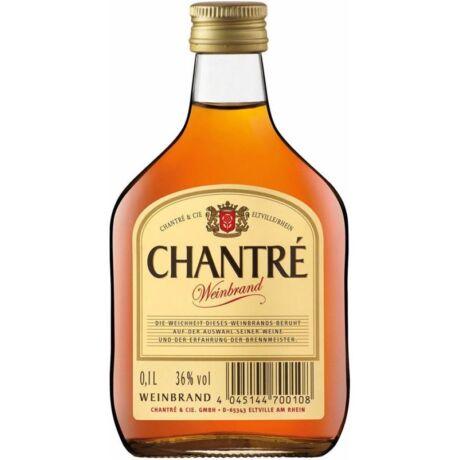 Chantre Weinbrand Brandy 0,1L 36%