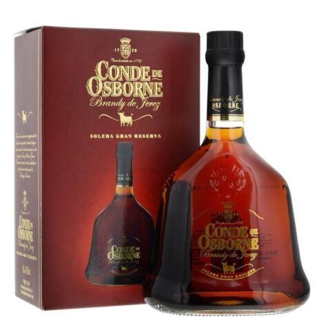 Conde de Osborne Brandy de Jerez - 0,7L  (40,5%) pdd.