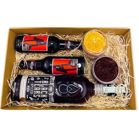 Black Tears Rum Szett Koktélfűszerekkel