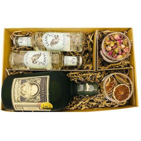 Diplomatico Rum Szett Koktélfűszerekkel