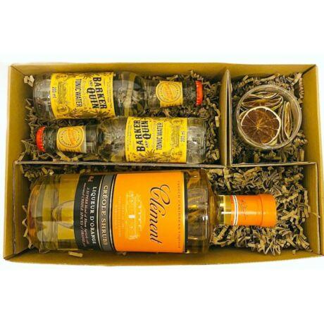 Clement Rum Szett Tonikkal és szárított Lime-al