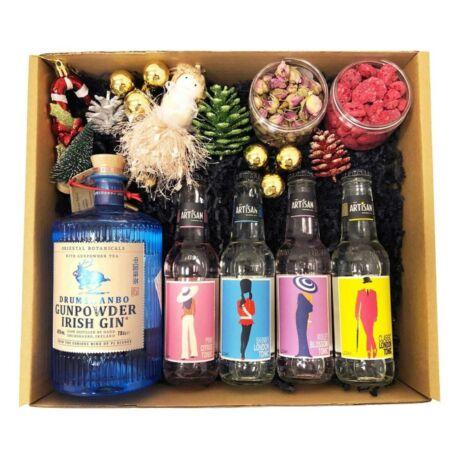 Karácsonyi Delux Irish Gin Tonik Szett Ginfűszerrel
