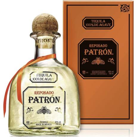 Patron Reposado Tequila 1,0 40% pdd.