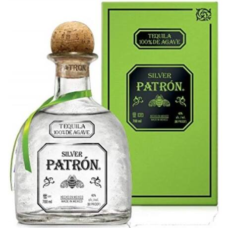 Patron Silver Tequila pdd. 0,7l 40%