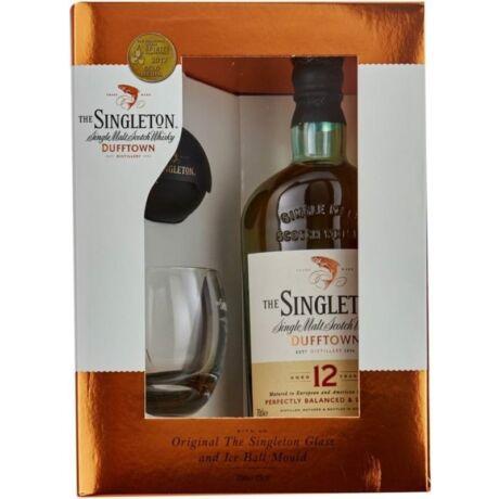 Singleton 12 years whisky pdd. 0,7L 40% + 2 pohár + Jéggömb készítő
