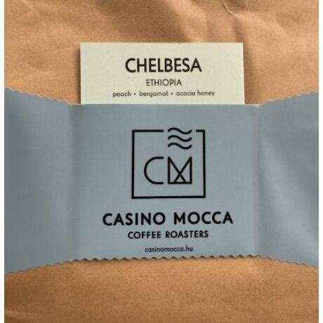 Casino Mocca - Chelbesa Etiópia szemes kávé eszpresszónak, 200 gr