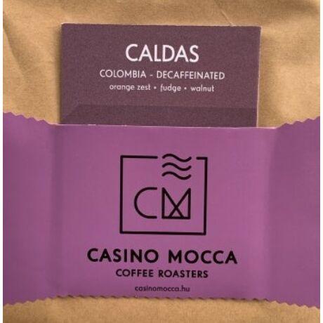 Casino Mocca - Caldas Decaf Kolumbia szemes kávé eszpresszónak, 200 gr