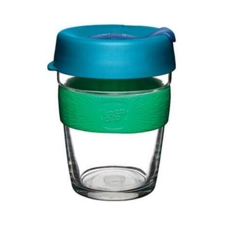 KeepCup Brew Café üveg pohár kávés termosz FLORAL - 360 ml