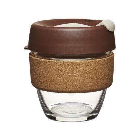 KeepCup caferange to go parafa/üveg pohár almond - 240 ml