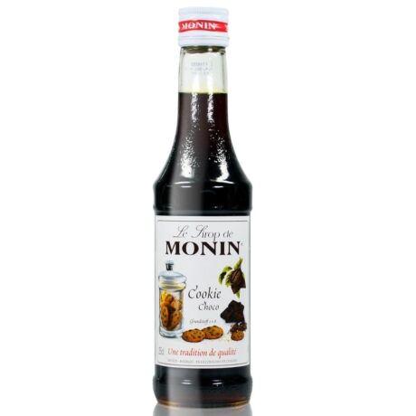 Monin Csokis Süti szirup (Chocolate Cookie) 0,25L