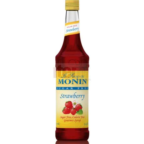 Monin Cukormentes Eper szirup (Sugarfree strawberry) 0,75L