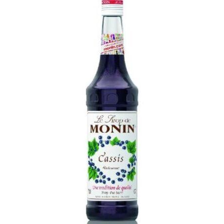 Monin Feketeribizli szirup (Cassis) 0,7L