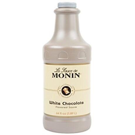 Monin Fehér csokoládé szósz (White chocolate) 1,89L