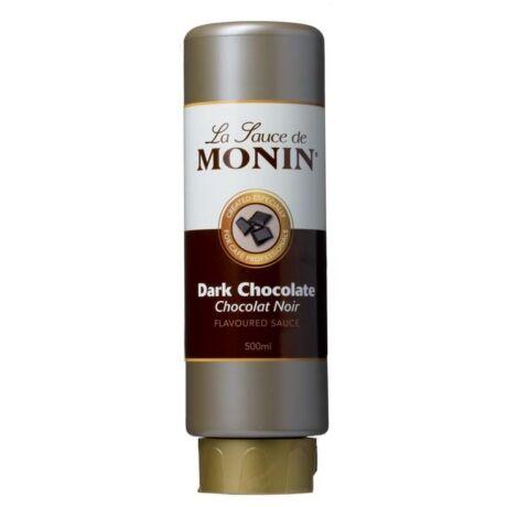 Monin Fekete csokoládé szósz (Black chocolate) 0,5L