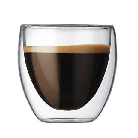Thermo duplafalú Lounge Doppio pohár 150 ml