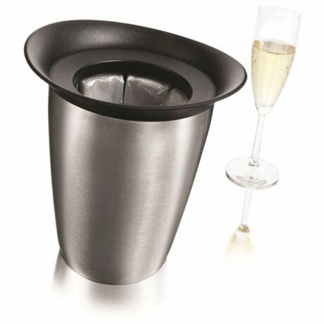 Vacu Vin Elegant pezsgőhűtő inox