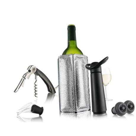 Vacu Vin Essentials boros szett fekete