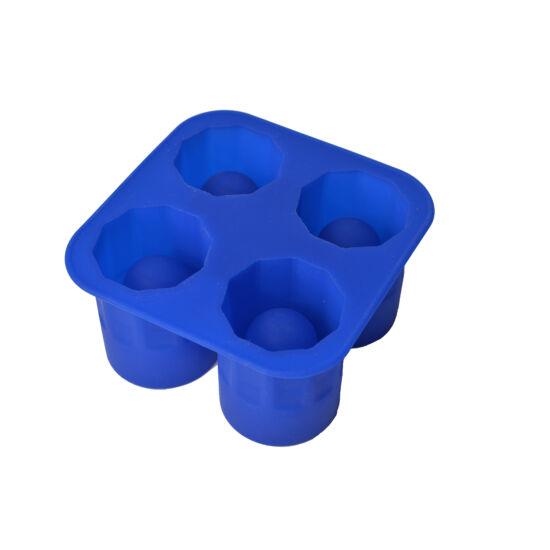 Szilikon röviditalos pohár jégforma 12,5 cm * 6,5 cm