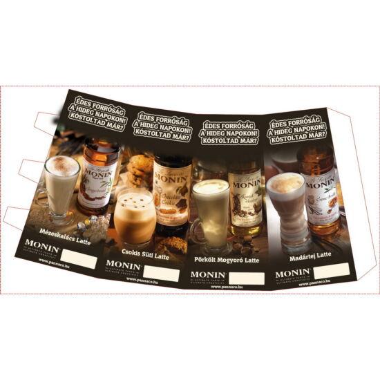 Monin Téli kávé kínáló