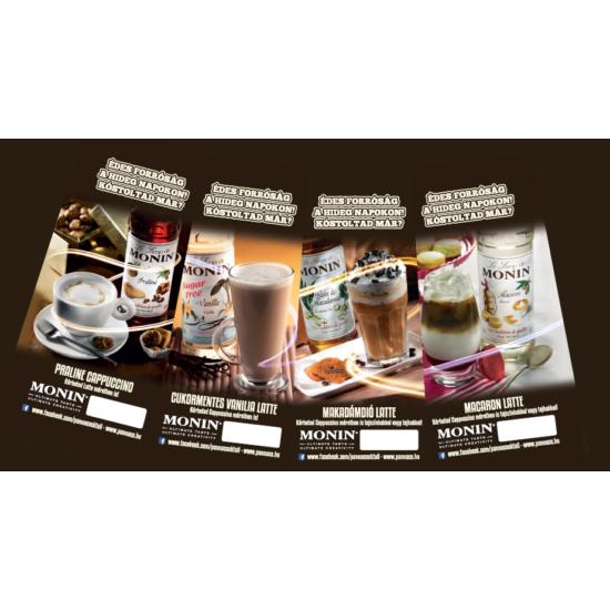 Monin Téli Gourmet kávé kínáló