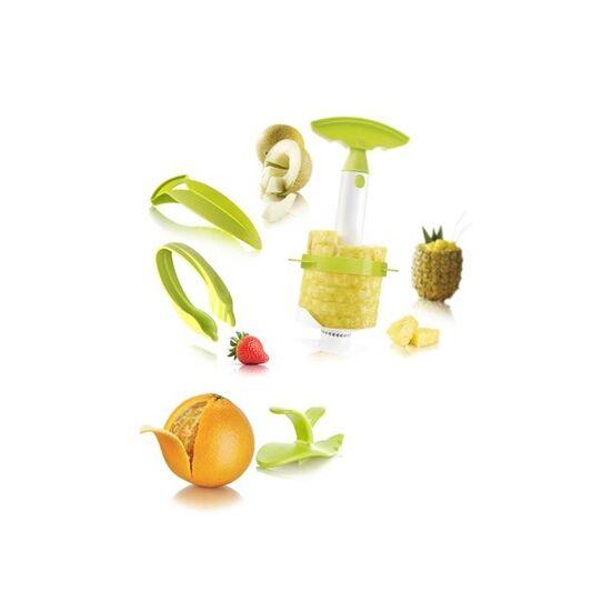 Vacu Vin gyümölcshámozó szett (eper,narancs,sárgadinnye,ananász)
