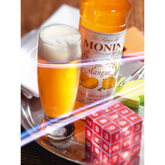 MONIN Mangó szirup 1L (PET palackos)