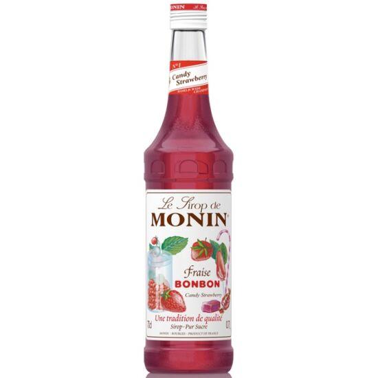 Monin Cukrozott Eper (Candy Strawberry) szirup 0,7