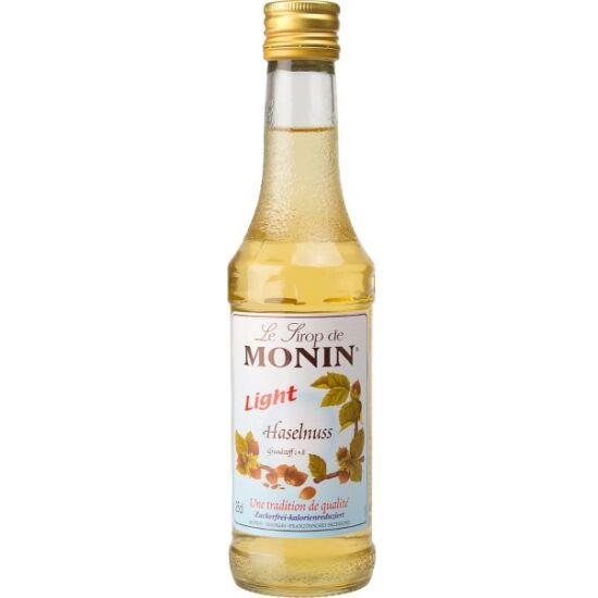 Monin Cukormentes Mogyoró kávészirup (sugarfree hazelnut) 0,25L