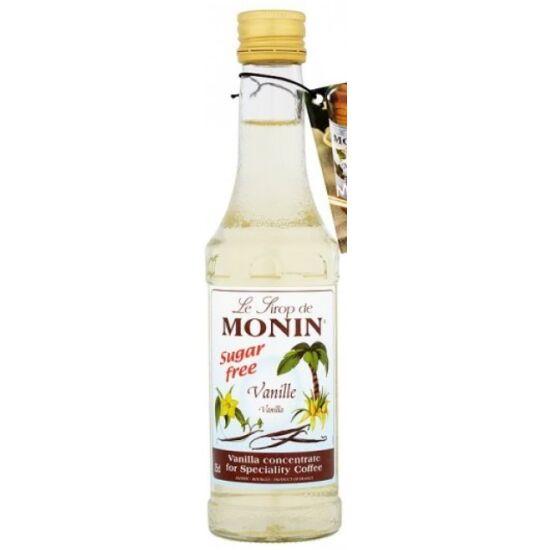 Monin Cukormentes Vanília kávészirup (sugarfree vanilla) 0,25L
