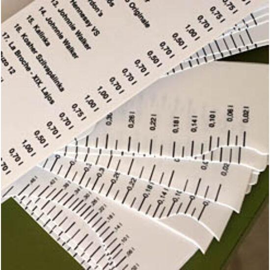 Standoló lap - Unicum 1 L