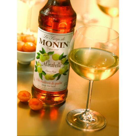 Monin Cseresznye Szilva szirup (Cherry Plum) 0,7L