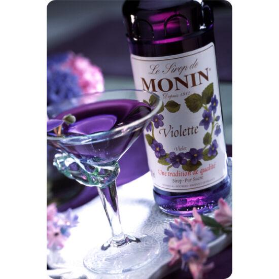 Monin Ibolya szirup (Violet) 0,7L