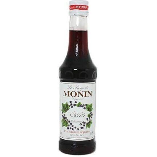 Monin Feketeribizli szirup (Cassis) 0,25L